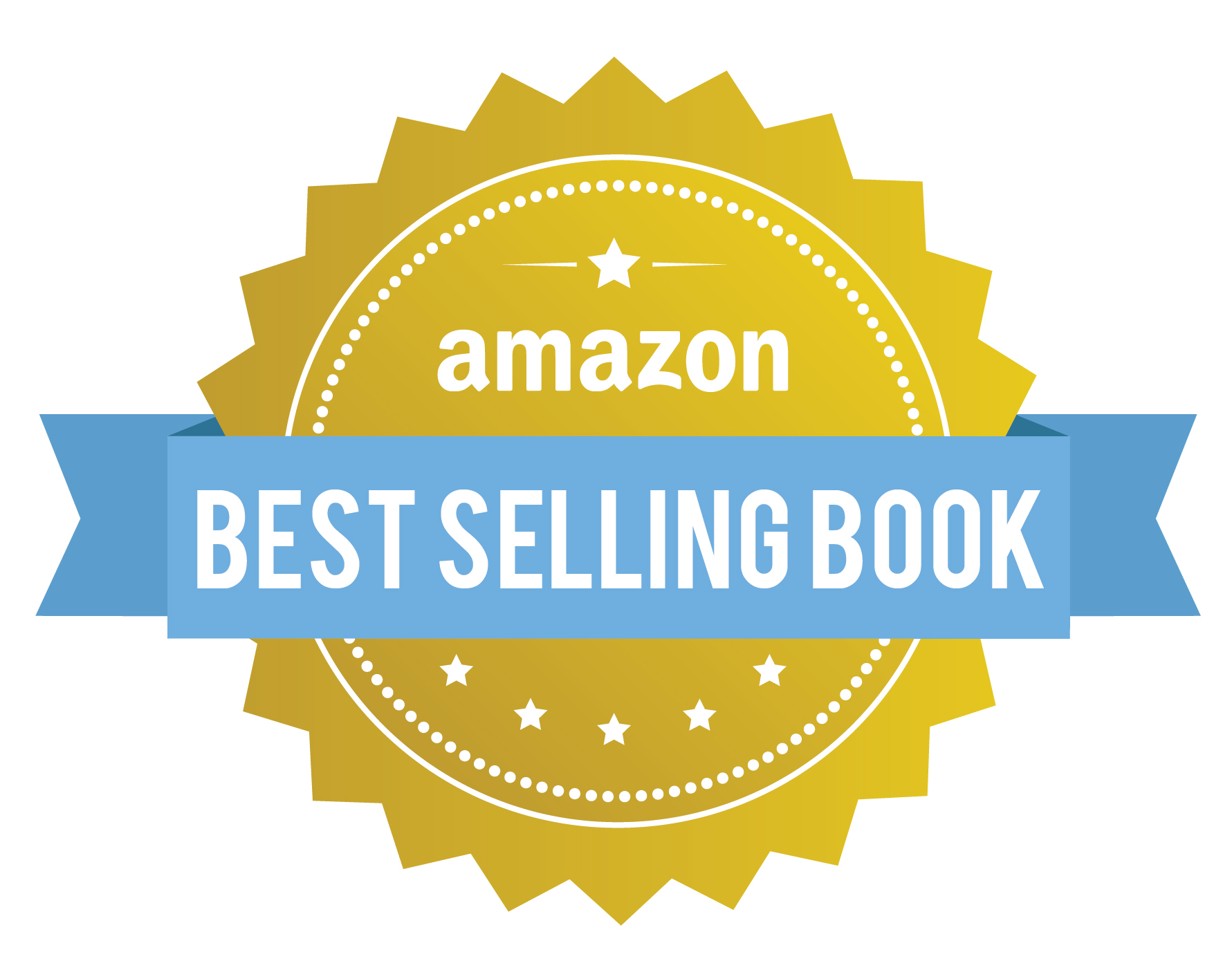 Amazon best selling book badge