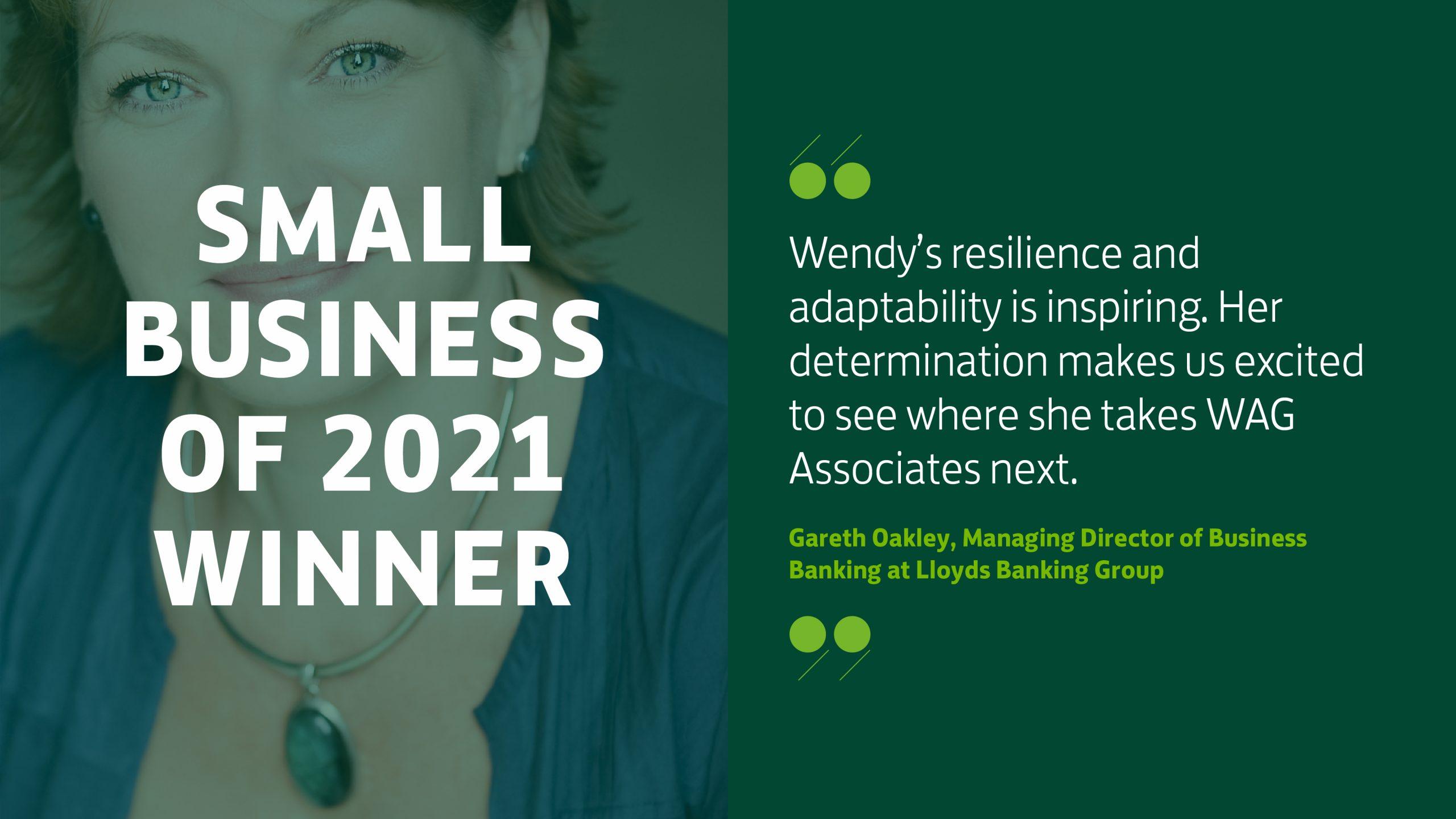 lloyds small business 2021 winner